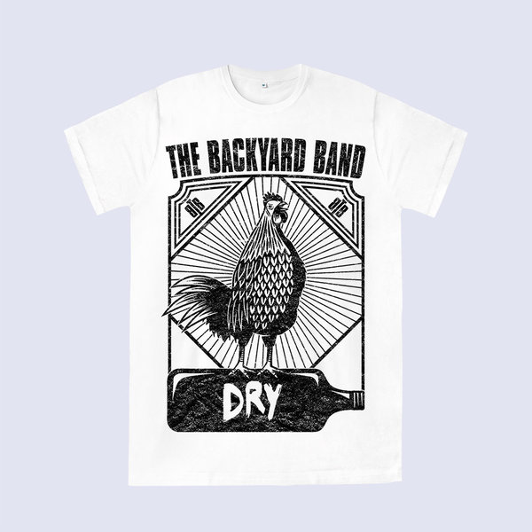 "THE BACKYARD BAND T-Shirt ""DRY"""